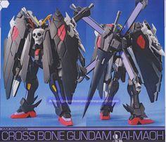 GUNDAM GUY: 1/144 Cross Bone Gundam Dai-Maoh - Customized Build
