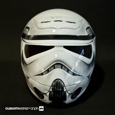 Storm Trooper Helmet.@Don Drake I thought you might like this.
