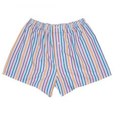 Caleçon à rayures multicolore #calecon