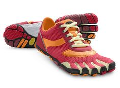 Both color choices are nice. I think I personally prefer rose and pumpkin, though. (Vibram FiveFingers - Speed)