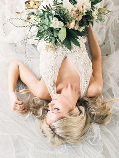 Bohemian bridal shoot: http://www.stylemepretty.com/2017/05/23/romantic-bohemian-bridal-session/ Photography: Lauren Fair - http://laurenfairphotography.com/