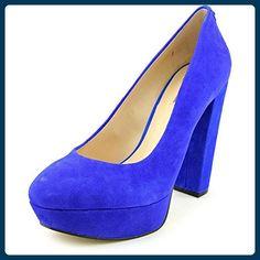 Guess Padey Damen US 9.5 Blau Plateauschuh - Sandalen für frauen (*Partner-Link)