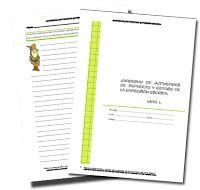 LOS LIBROS QUE ESPERABA: Cuadernillo para trabajar la composición escrita