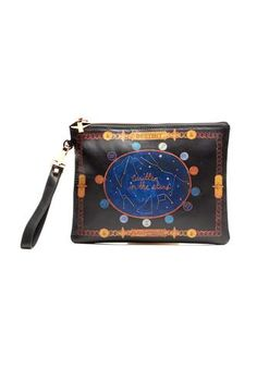 658800a59587 Emm Kuo x Chrisu Pouch Written in the Stars Silk Scarves, Coin Purse, Pouch