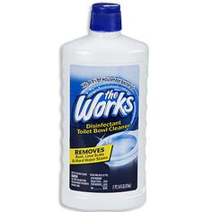 The Works® Disinfectant Toilet Bowl Cleaner at Big Lots.