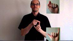 Les légumes en langue des signes française