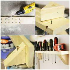 Garage Storage Ideas Diy & Garage Organization 14 practical storage ideas for an impeccable garage 1 Garage Organisation, Diy Garage Storage, Workshop Organization, Basement Storage, Diy Organization, Storage Ideas, Tool Sheds, Diy Jewelry Findings, Garage House