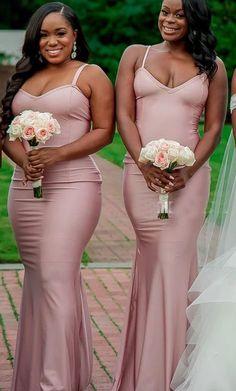 Mermaid Bridesmaid Dresses, Wedding Bridesmaids, African Bridesmaid Dresses, Beautiful Bridesmaid Dresses, Bridesmaid Dress Styles, Bridesmaid Ideas, Sexy Dresses, Prom Dresses, Wedding Dresses