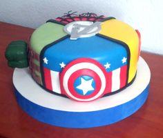 Tarta Vengadores 2   Avengers Cake 2