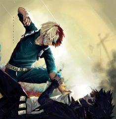 Anime: My Hero Academia<Don't forget to support the artist> Otaku Anime, Comic Anime, Sad Anime, My Hero Academia Shouto, My Hero Academia Episodes, Hero Academia Characters, Madara Wallpapers, Animes Wallpapers, Hot Anime Boy