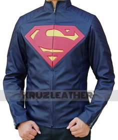 Are you Superman Fan? Get this Superman Blue Leather Man of Steel Jacket and get yourself in Superman's suit. BUY TODAY!!