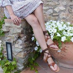 cd17105b9de5 Relaxing in Spain wearing the Grear Sandal  SarahFlint NYC Womens Flats