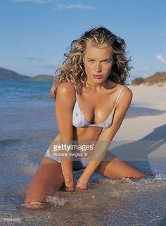Rebecca Romijn - Sports Illustrated Swimsuit 1999 Photographed by: Antoine Verglas Laetitia Casta, Natalia Vodianova, Lily Aldridge, Claudia Schiffer, Cindy Crawford, Naomi Campbell, Heidi Klum, Sports Illustrated, Rebecca Romijn Stamos
