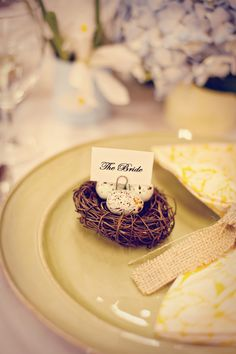 Cute Easter place settings