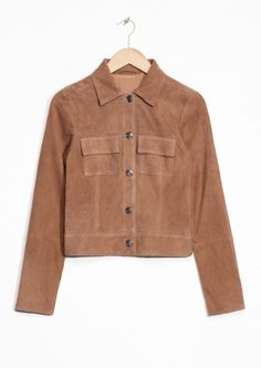 & Other Stories | Buttoned Suede Jacket
