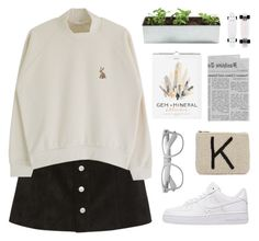 """""""Untitled #514"""" by kezia2602 ❤ liked on Polyvore featuring AG Adriano Goldschmied, NIKE and Akira Black Label"""