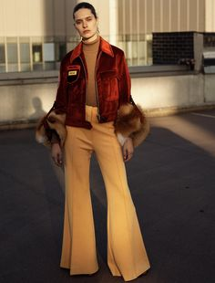 Photography: Peter Gehrke Styled by: Megal Grouchka Hair: Kazue Deki Makeup: Lisa Legrand Model: Anna Cholewa