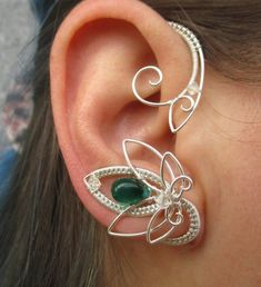 Fake Nose Cuff-Nose Ring-Fake Nose Ring-Faux Nose Ring-Body Jewelry-Fake Piercing-Ear Cuff-Fake Septum ring-No Piercing-Nose Jewelry - Custom Jewelry Ideas Ear Jewelry, Body Jewelry, Fine Jewelry, Women Jewelry, Skull Jewelry, Hippie Jewelry, Jewellery, Wire Ear Cuffs, Elf Ear Cuff