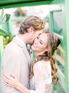 Filled with the most incredible florals and hair inspo, this wedding inspiration is beyond perfection. Wedding Kiss, Wedding Shoot, Wedding Makeup, Wedding Table, Wedding Dresses, Makeup Photography, Bridal Photography, Garden Wedding Inspiration, Groom Looks