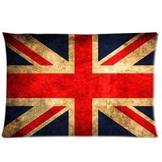 Retro classic british guitare rock union jack drapeau musique boucle ceinture en cuir