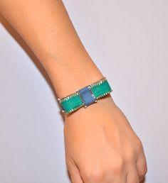 DIY marc by marc jacobs inspired bracelet