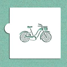 Bicycle+Cookie+and+Craft+Stencil