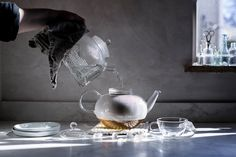 restorative tea hour & a lemon + thyme cornmeal cake (Local Milk) Organic Cooking, Local Milk, Affogato, Sugar Cubes, Loose Leaf Tea, Afternoon Tea, Just Desserts, Lemon, Slow Living