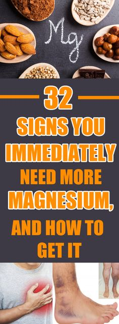 32 Signs You Immediately Need More Magnesium, And How To Get It! Sometimes, we often ignore the symptoms we experience, but it is a fact that the deficiency of a single nutrient can lead to numerous health complications. Sante Plus, Tolle Hotels, How To Make Money, How To Get, Nutrition, Group Boards, The Best, Health Fitness, Weight Loss