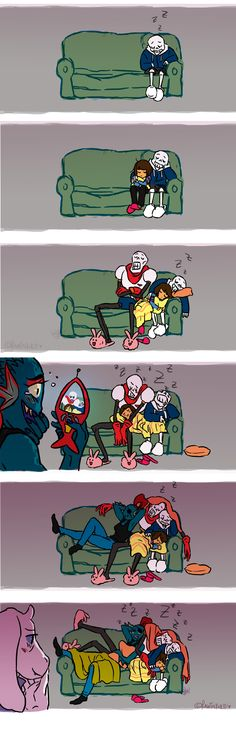 Undertale #comic #sleeping