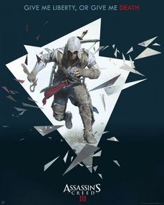 Poster Assassin's Creed 3 Connor 3