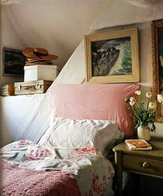 cottage bedroom Love this charming