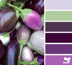 COLOURS: Gorgeous purples.