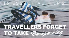 We've meet so many other travellers who don't have any of these with them. Make sure these 10 items are on your Backpacking Checklist and make travel easier