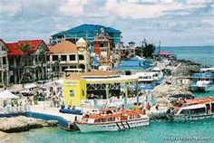 ... Lines and cruise ships visiting the port of George Town, Grand Cayman