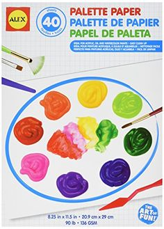 ALEX Toys Artist Studio Palette Paper Pad 40 Glossy Sheets >>> Be sure to check out this awesome product.-It is an affiliate link to Amazon. #DrawingPaintingSupplies