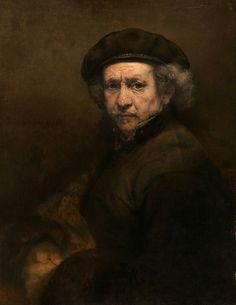 Self-portrait Rembrandt van Rijn 1659 Oil on canvas 84.5 cm x 66 cm National Gallery of Art, Washington