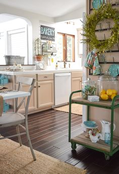 I love farmhoue style decorating, but I love some color too! So I buy what I like, and smoosh. It's my favorite way to add what I love to my home, without sticking with one particual design style. See my Simple Spring Cottage Farmhouse Easter Table at www.foxhollowcottage.com and I'll show you around my DIY heavy, thrifted, easy, affordable, little un-fussy house. xo Shannon