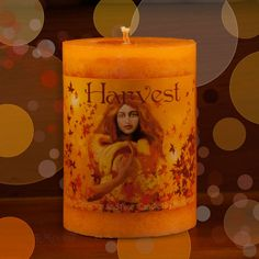 Harvest Candle 3x4