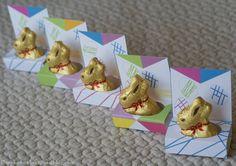 Présentoirs pour lapins Lindt