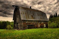 old barns   Beautiful Old Barn   Flickr - Photo Sharing!