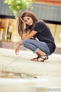 Posh poses for senior girls. by hosanna.elexzerino