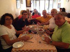 L'altro giorno a pranzo... con i nostri clienti amici di Brembate !!!