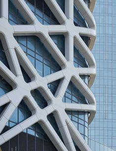 City Of Dreams, Macao, China, Zaha Hadid Architects, Casino, Hotel, Exoskeleton, facade, rainscreen, BIM, Fabrication