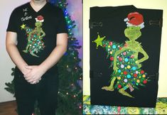 Grinch, Trending Outfits, Unique Jewelry, Handmade Gifts, Painting, Vintage, Kid Craft Gifts, Craft Gifts, Painting Art