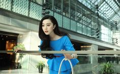 Fan Bingbing in One Night Surprise - loved this peplum dress she wore