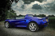 Lotus Elise S1 111S Azure blue