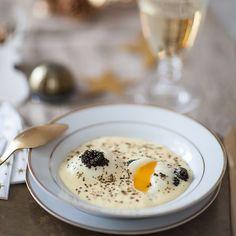 #oeufparfait au #caviar @petrossian_fr et #saucehollandaise C'est beau c'est bon et c'est avec un #companion @moulinex que je l'ai réalisé !