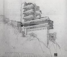 STREETS OF BEIGE: Drawings by American Architect, Frank LLoyd Wright