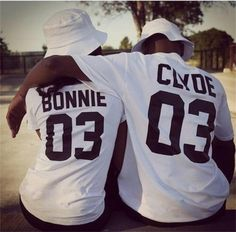 eb3835fe5b57c Valentine Shirts Women Men Bonnie Bonnie 03 CLYDE 03 couples leisure cotton  short sleeve T shirt euro size O neck t shirts 2017-in T-Shirts from Women s  ...