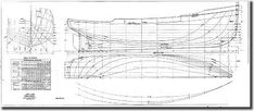 Ship construction plan Purse Seiner is based on free data available on the Internet.